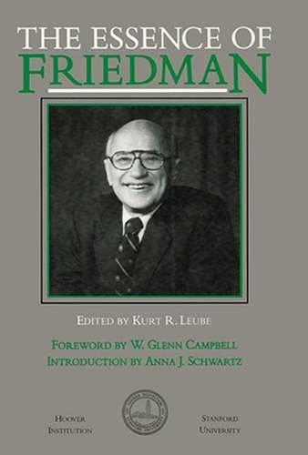 9780817986629: The Essence of Friedman (Hoover Institution Press Publication)