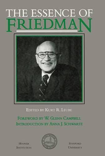 9780817986629: The Essence of Friedman (Hoover Institution Press Publication)