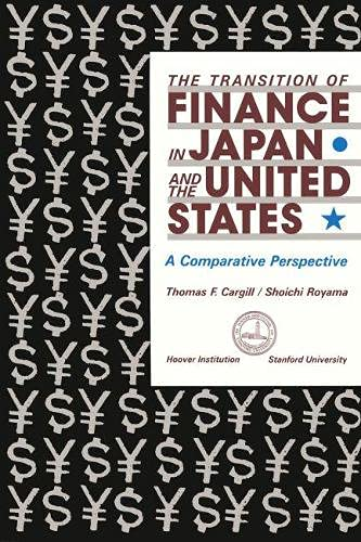 9780817987220: The Transition of Finance in Japan and the United States: A Comparative Perspective (Hoover Institution Press Publication)