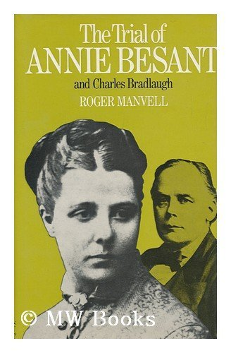9780818008191: The Trial of Annie Besant and Charles Bradlaugh