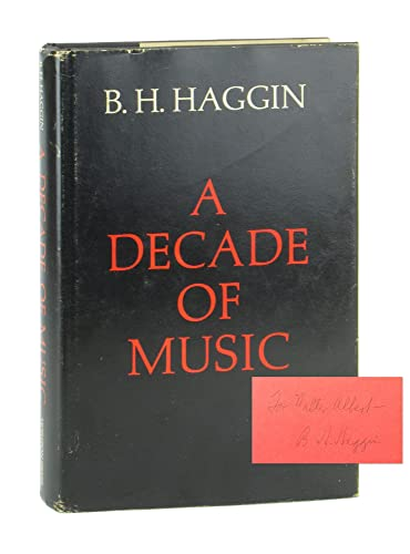9780818012105: A Decade of Music