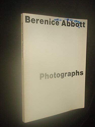 9780818014130: Berenice Abbott : Photographs
