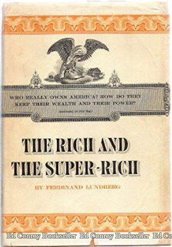 9780818400698: The Rich and the Super-Rich: A Study in the Power of Money Today