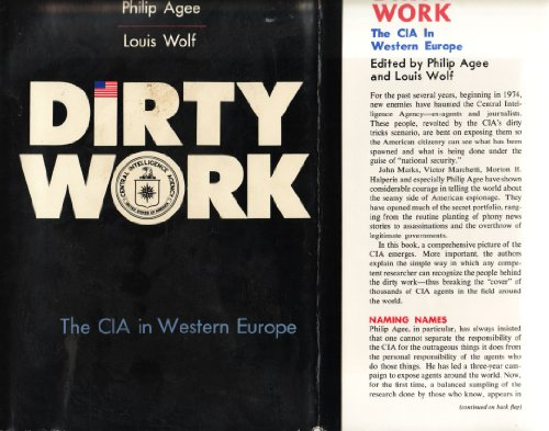 9780818402685: Dirty Work. The CIA in Western Europe.