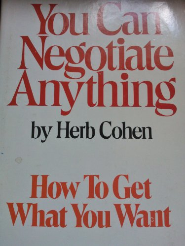 9780818403057: You Can Negotiate Anything