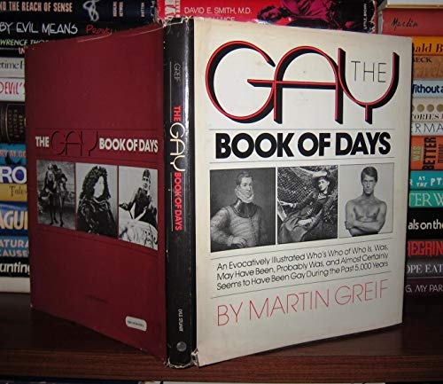 The Gay Book of Days: Greif, Martin