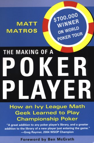 9780818406423: The Making Of A Poker Player
