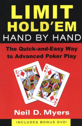 9780818407116: Limit Hold 'Em Hand by Hand: The Quick and Easy Way to Advanced Poker Play w/DVD