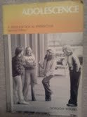 9780818502491: Adolescence: A Psychological Perspective