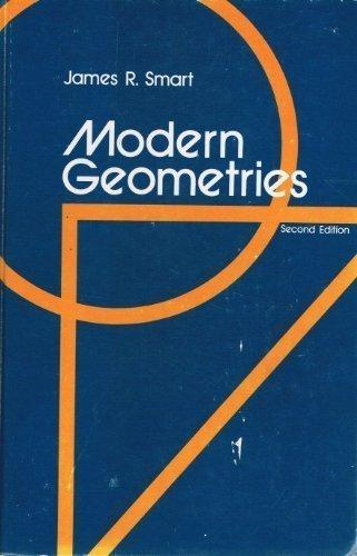 Modern Geometries: Smart, James R.