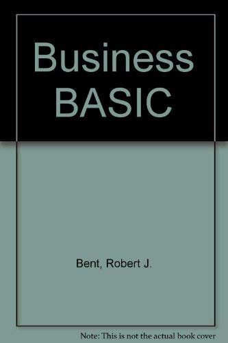 9780818503597: Business BASIC (Brooks/Cole series in computer science)