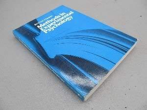 9780818504310: Methods in experimental psychology