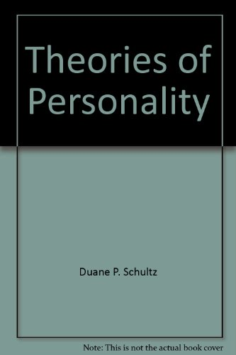 9780818504396: Theories of personality