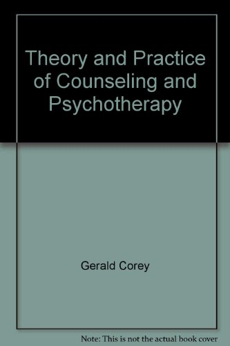9780818504556 Theory And Practice Of Counseling And Psychotherapy