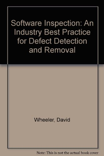 9780818673405: Software Inspection: An Industry Best Practice