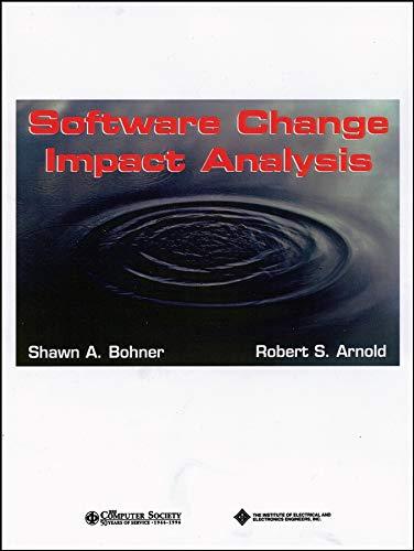 9780818673849: Software Change Impact Analysis