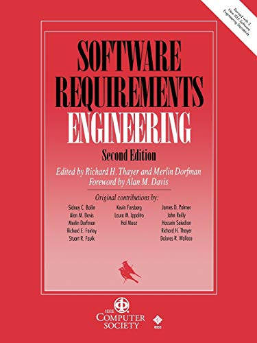 9780818677380: Software Requirements Engineering, 2nd Edition