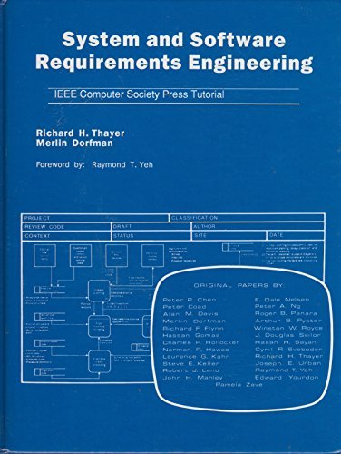 9780818689215: System and Software Requirements Engineering (IEEE Computer Society Press tutorial)
