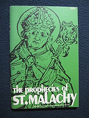 9780818901898: The prophecies of St. Malachy