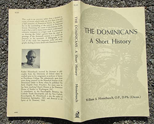 9780818903014: The Dominicans: A short history