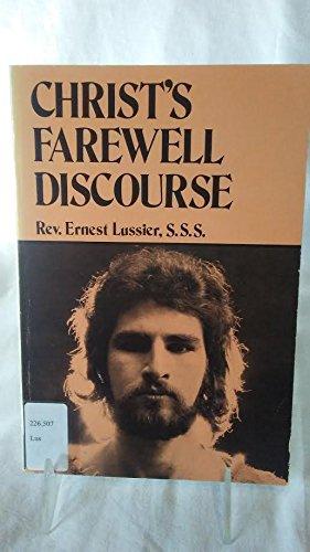 Christ's farewell discourse: Lussier, Ernest