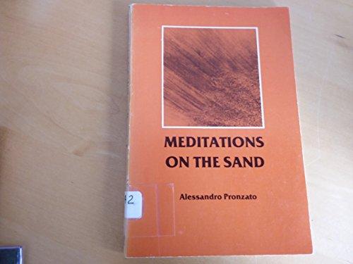 9780818904578: Meditations on the Sand (English and Italian Edition)