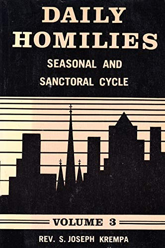 9780818904790: Daily Homilies: Seasonal and Sanctorial Cycle