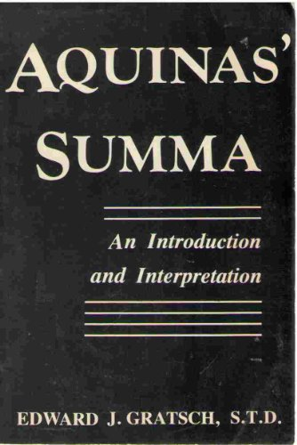 9780818904851: Aquinas' Summa: An Introduction and Interpretation