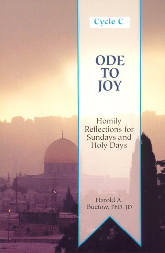 9780818907296: Ode to Joy, Cycle C: Homily Reflections for Sunday and Holy Days