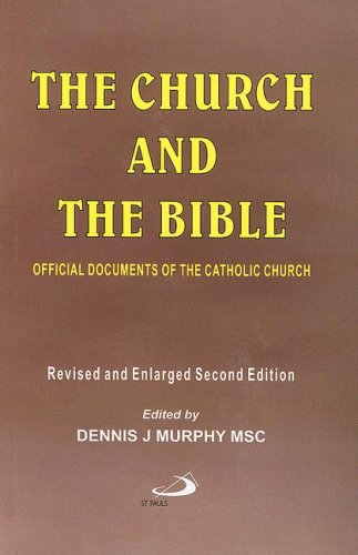 9780818912504: Church and The Bible: Official Documents of the Catholic Church