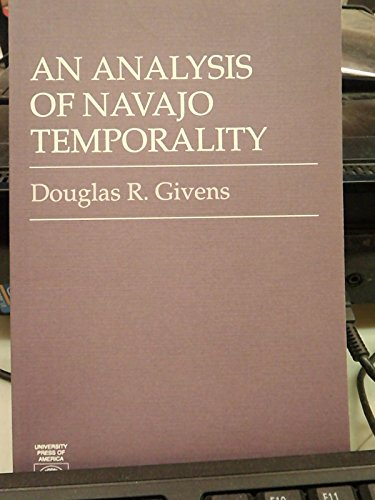 9780819102133: An Analysis of Navajo Temporality