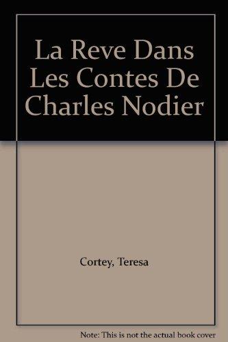 La Reve Dans Les Contes De Charles Nodier