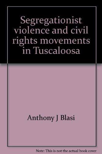 9780819109149: Segregationist Violence & CIVI