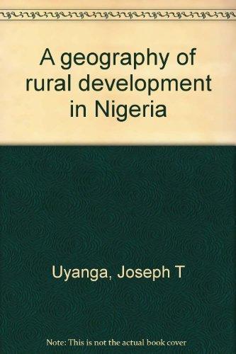 9780819109569: A geography of rural development in Nigeria