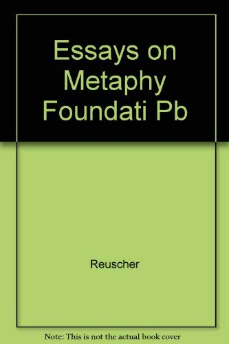 9780819114723: Essays on the Metaphysical Foundation of Personal Identity