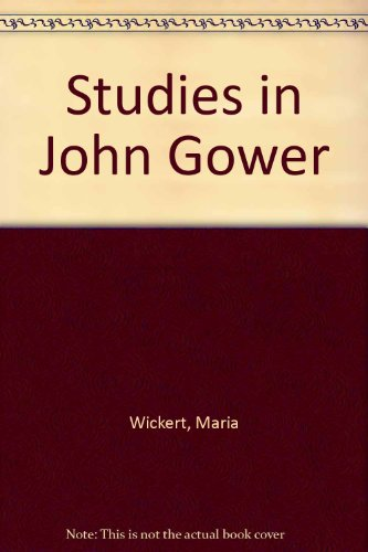 9780819119933: Studies in John Gower