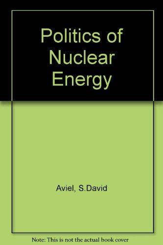 Politics of Nuclear Energy: S.David Aviel