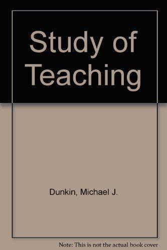9780819122599: The Study of Teaching