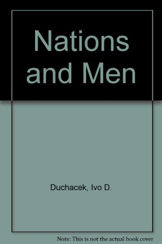 9780819122605: Nations and Men: An Introduction to International Politics