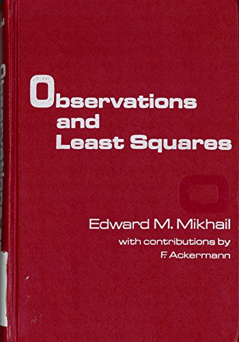 9780819123978: Observations and Least Squares