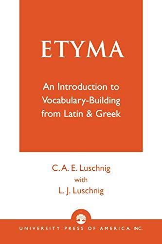 9780819125712: Etyma
