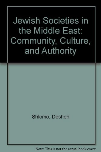 9780819125798: Jewish Societies in the Middle East: Community, Culture, and Authority