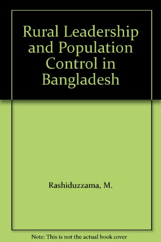 Rural Leadership & Population: Rashiduzzama, M.
