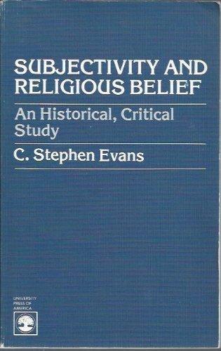9780819126658: Subjectivity and Religious Belief