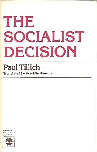 9780819129116: Socialist Decision, the CB