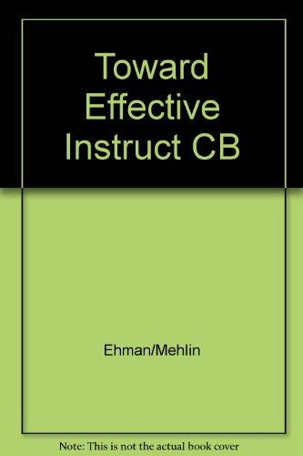 Toward Effective Instruction in Secondary Social Studies: Lee Ehman, Howard
