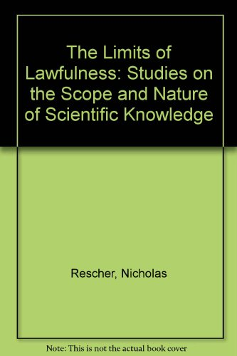 9780819131775: Limits of Lawfulness (CPS Publications in Philosophy of Science)