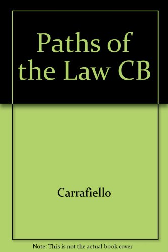 9780819132918: Paths of the Law CB