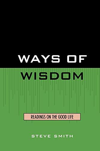 9780819133885: Ways of Wisdom