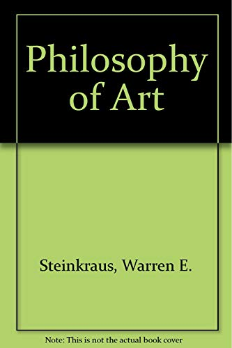 9780819137494: Philosophy of Art